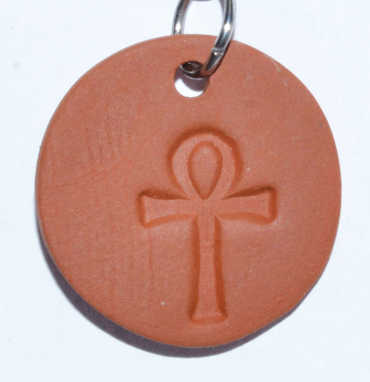 "1 1/4"" Ankh diffuser amulet"