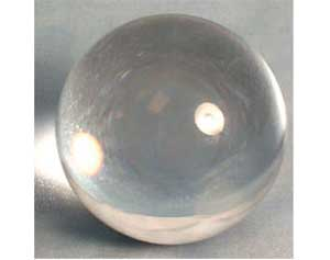 125mm Clear crystal ball