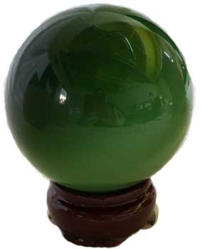 40mm Green Cat's Eye