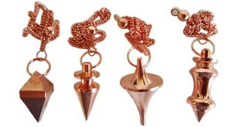 copper plated Brass pendulum