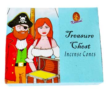 Treasure Chest Kamini cone 10 pack
