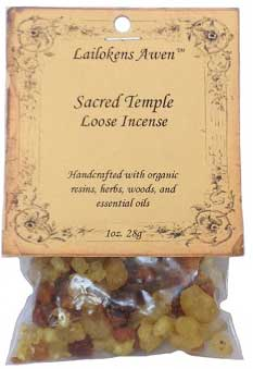 28g Sacred Temple Lailokens Awen incense