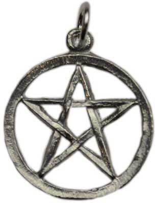 Small Pewter Pentagram