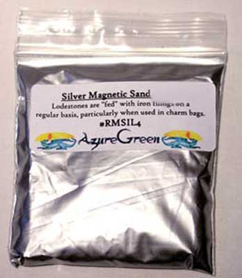 1 Lb Magnetic Sand Silver