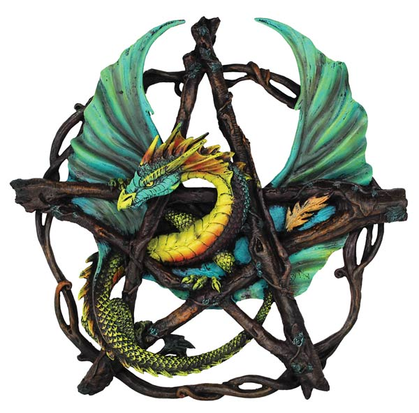 Forest Pentagram Dragon 13""